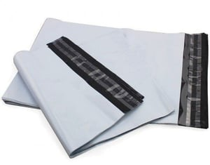 Tamper free courier bags