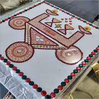 Attractive Fiber Rangoli