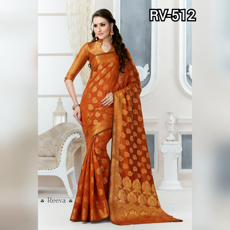 Deasigner Tussar silk saree