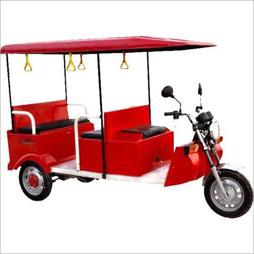 Red Queen E-Rickshaw