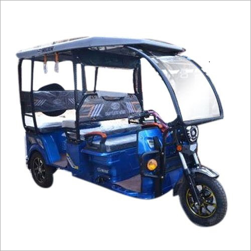 Battery Operated E-Rider Rickshaw