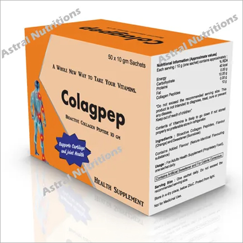 Colagpep Health Supplements Sachet