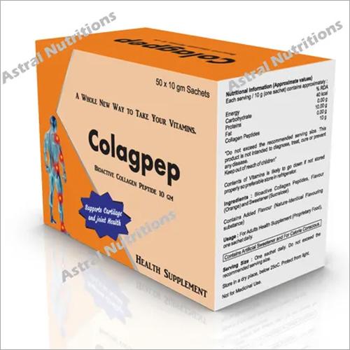Colagpep Health Supplements Sachet