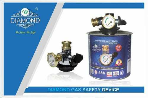 gas safety device horizontal