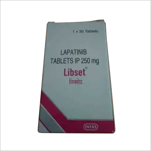 Lapatinib Tablets IP 250mg
