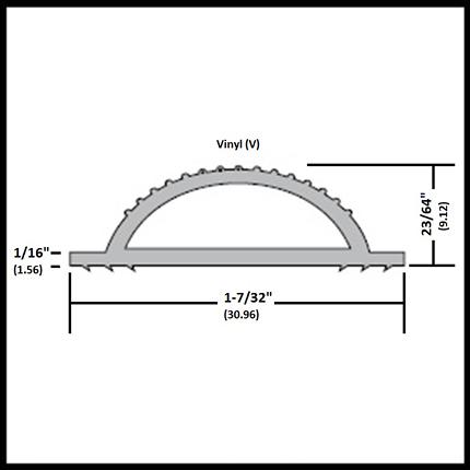 aluminium pvc profiles