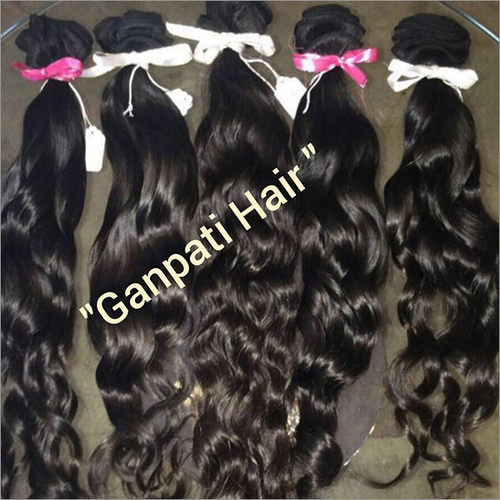 Temple Machine Weft Hair