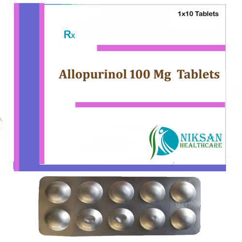 Allopurinol 100 Mg Tablets