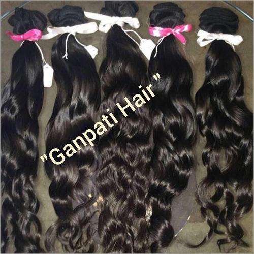 Natural Curvy Temple Hair