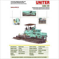 Tracked Hydrostatic Sensor Paver Finisher
