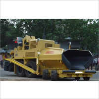 Road Paver Finisher Machine