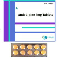 Amlodipine 5 Mg Tablets