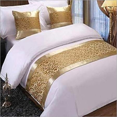 Designer hotel bed runners