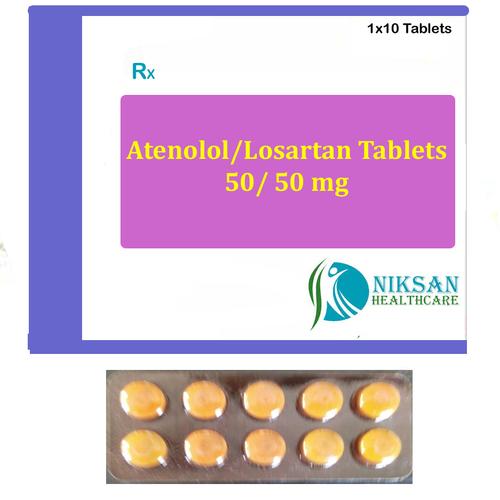Atenolol 50mg Lostartan 50 Mg Tablets