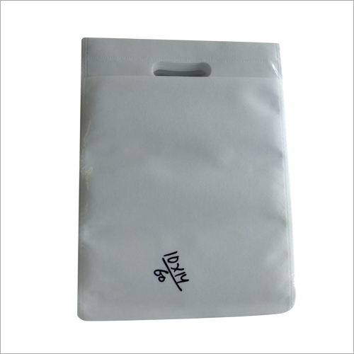 10 x 14 Inches Non Woven D Cut Plain Bag