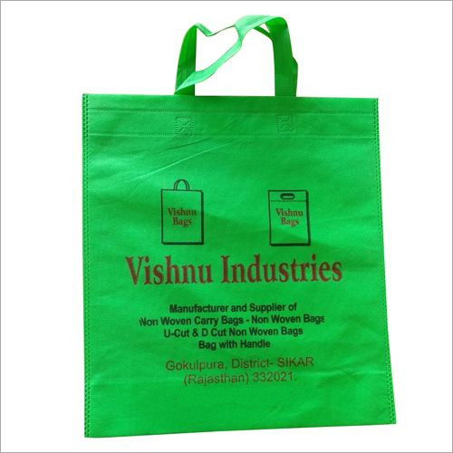 Non Woven Loop Handle Printed Bag