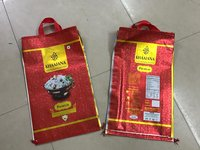 BOPP Laminated Handle Bags