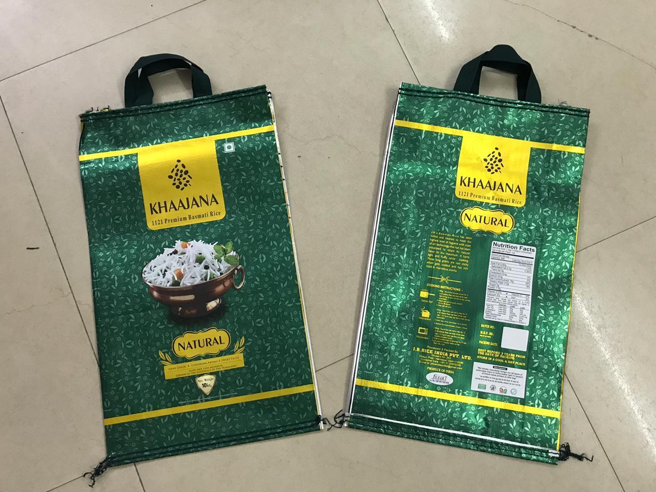 BOPP Laminated Handle Bags