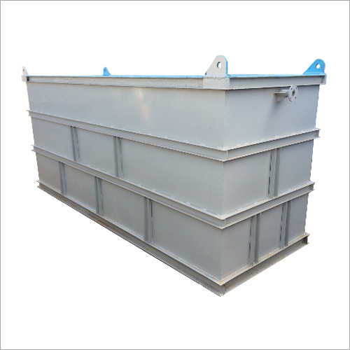 Mild Steel FRP Lined Chemical Storage Tank, 7000L