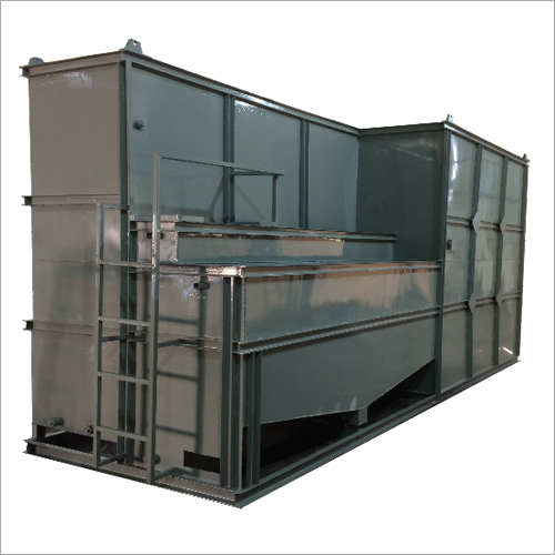 Mild Steel STP Process Tank, 75000 LPD