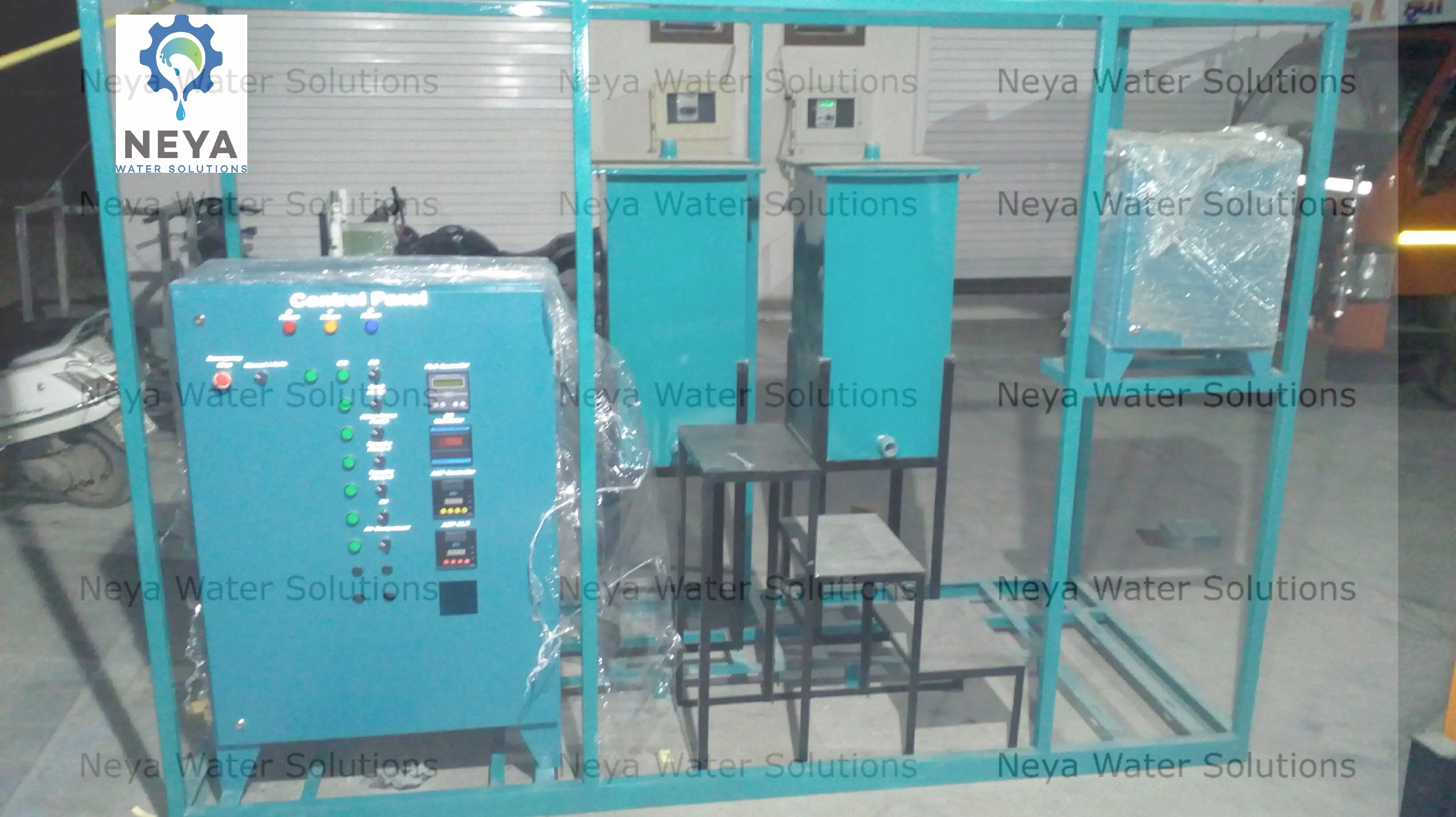 Compact Electrocoagulation System