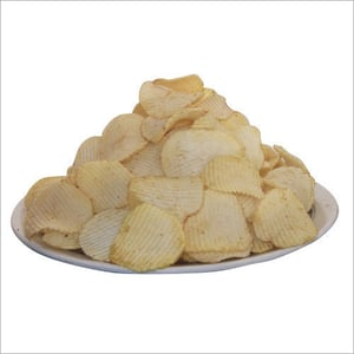 Raw Lining Potato Chips