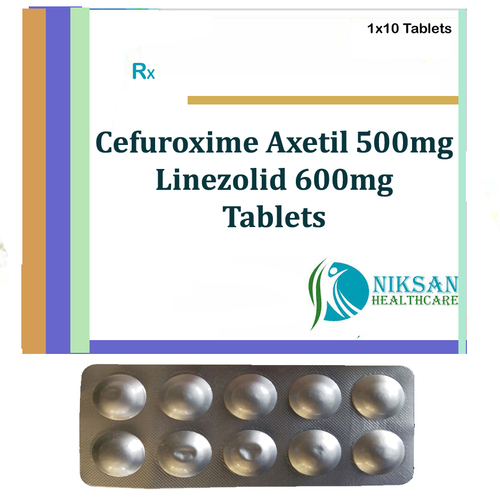 Cefuroxime Axetil 500Mg Linezolid 600Mg Tablets