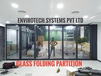 Glass Sliding Folding Partition