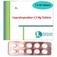 Cyproheptadine 1.5 Mg Tablets