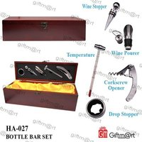 BOTTLE BAR SET ,