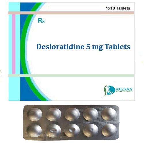 Desloratidine 5 Mg Tablets