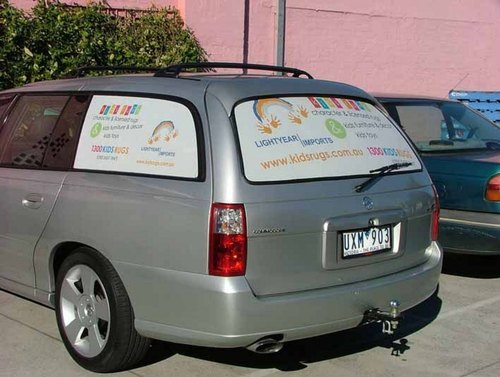 CAR MESH ADVERTISING SERVICE
