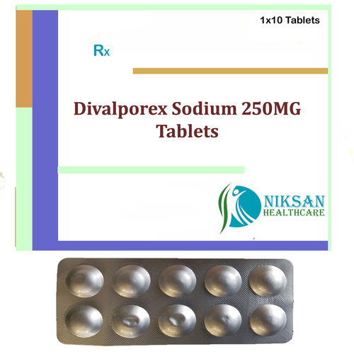 Divalporex Sodium 250Mg Tablets