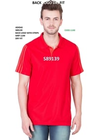 Adidas Stripped T Shirt