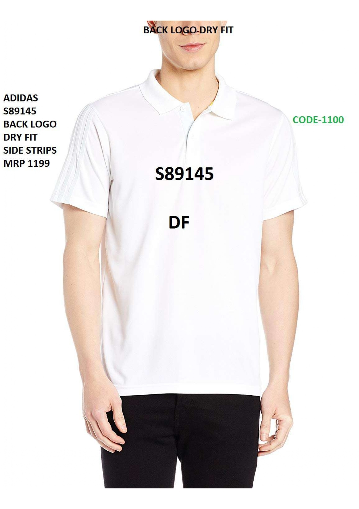 Adidas Stripped T Shirt