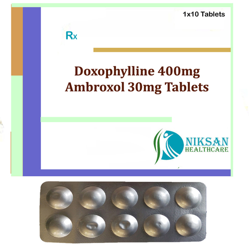 Doxophylline 400Mg Ambroxol 30Mg Tablets