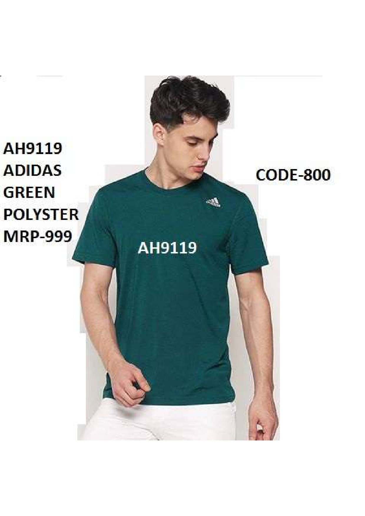 Adidas Grey T Shirt
