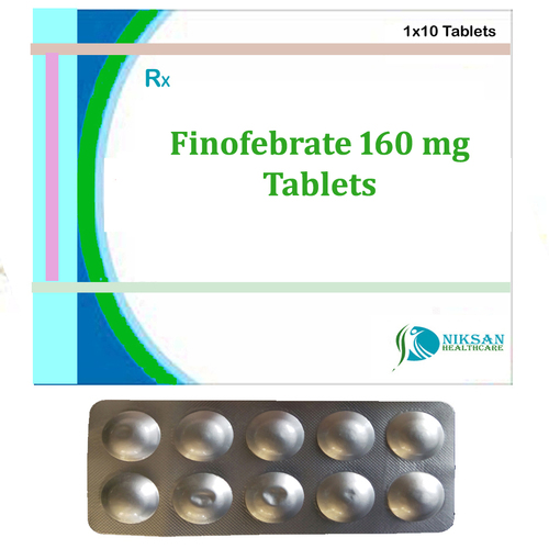 Fenofebrate 160 Mg Tablets