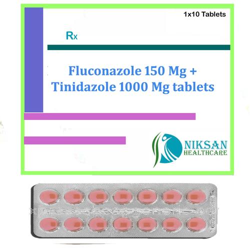 Fluconazole 150 Mg Tinidazole 1000 Mg Tablets