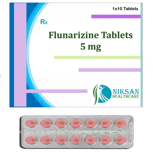Flunarizine 5 Mg Tablets