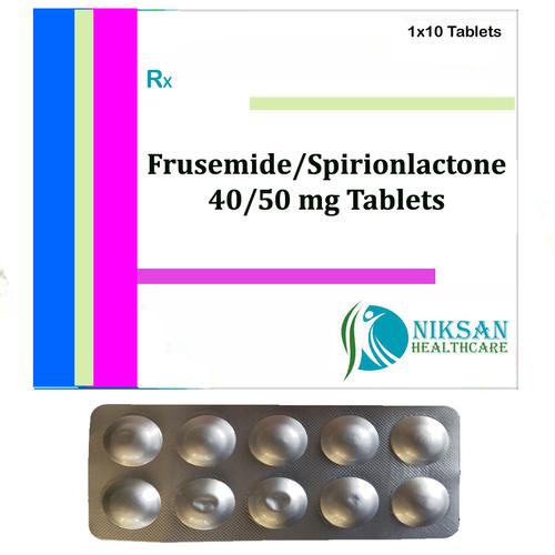 Frusemide 40 Mg Spirionlactone 50 Mg Tablets
