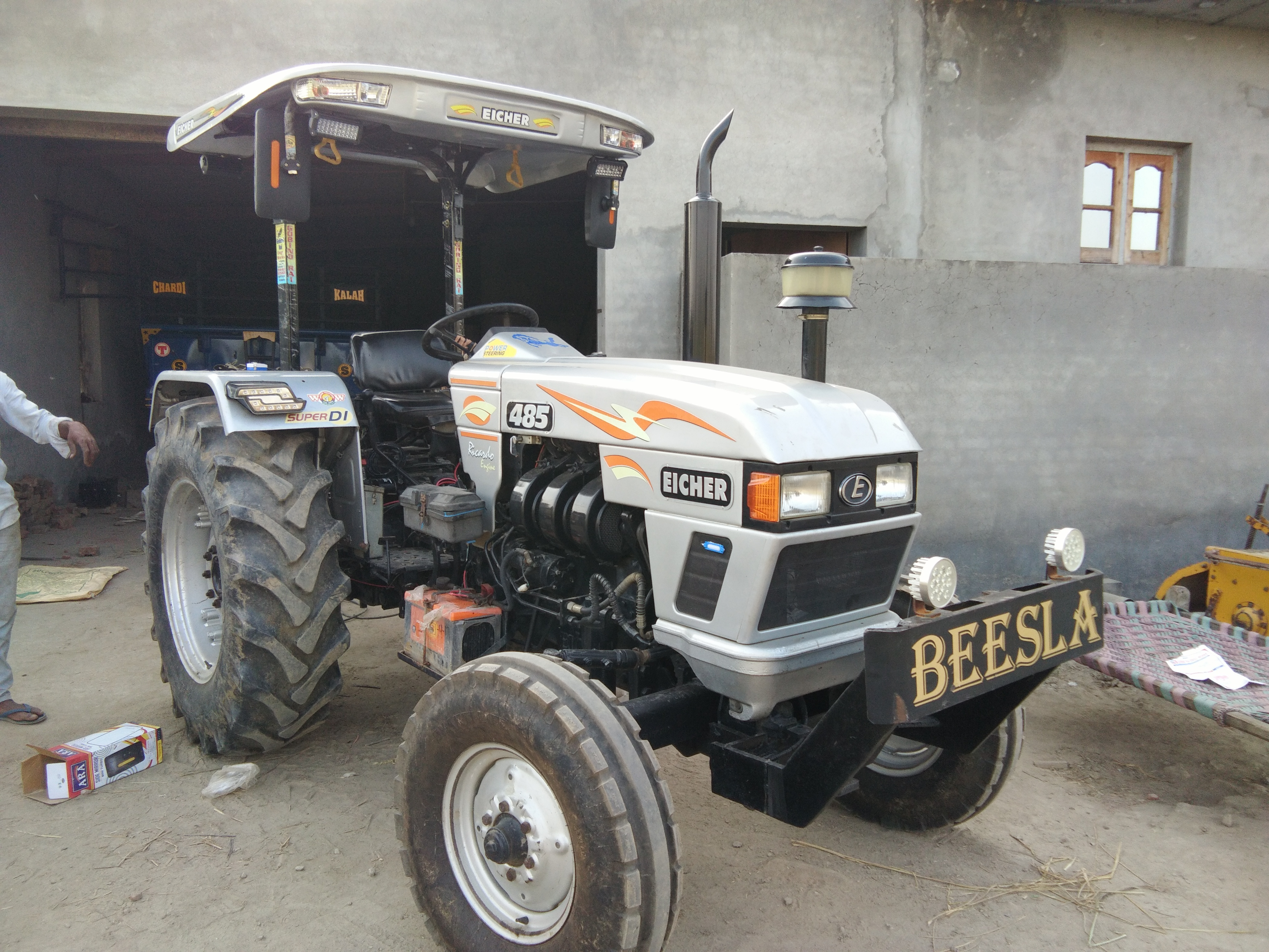 Eicher tractor fibre chattri