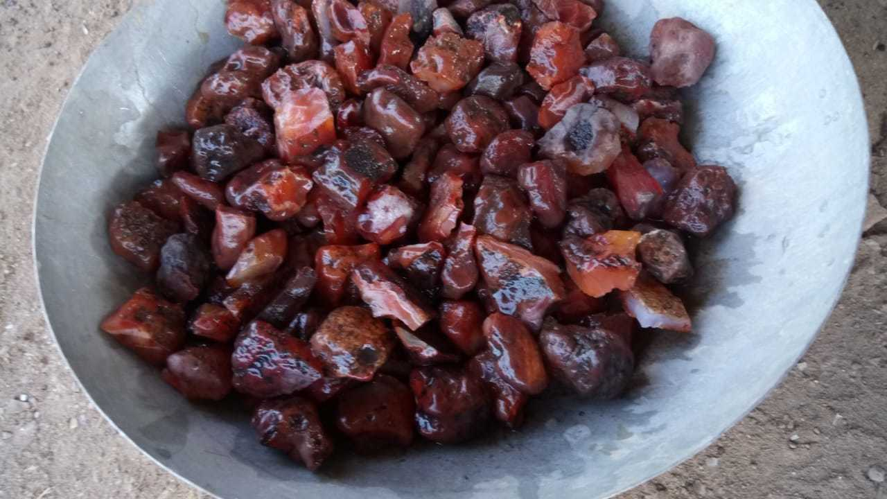 Red Carnelian polished Aggregate for sale