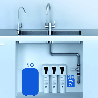 High Flow Water Filtration System