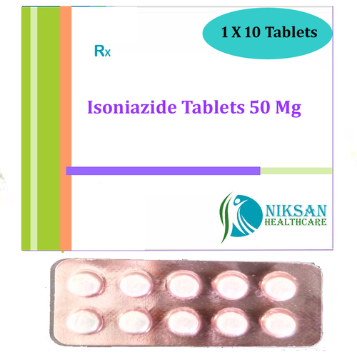 Isoniazide Tablets 50 Mg