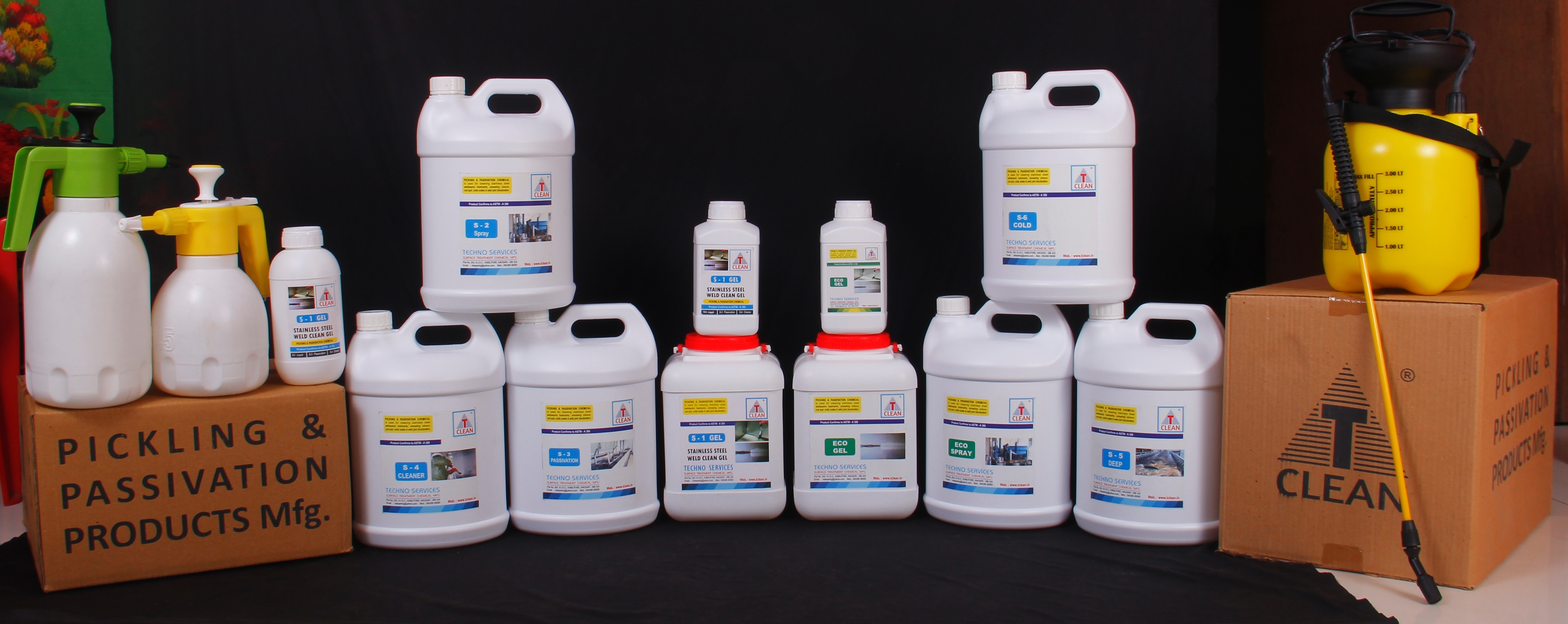 Metal Surface Oil Cleaner
