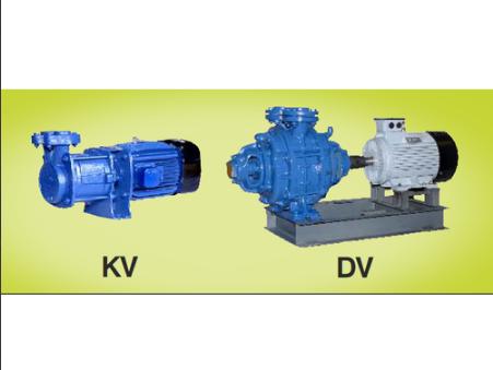 Cast Iron Double Stage Kirloskar Vacuum Pump