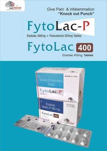 Etodolac 300mg + Paracetamaol 325mg Tablets