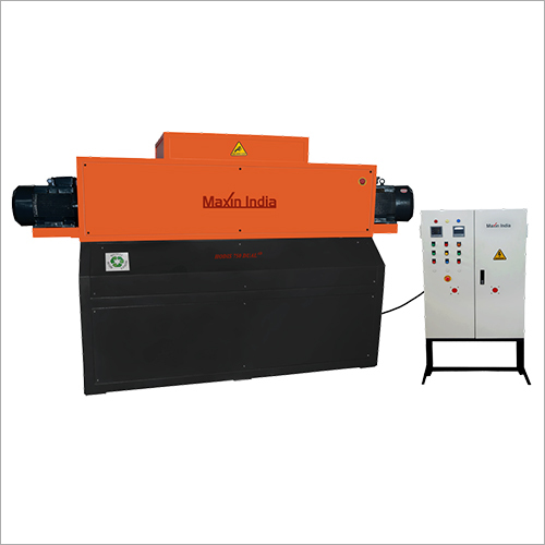 MSW And Plastic Waste Shredder