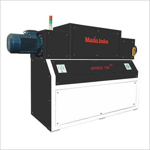 750 Dual AD MSW And Plastic Shredder Machine